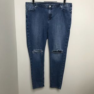 Michael Kors Ripped Skinny Jean size 20W